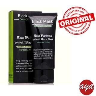 Bamboo Charcoal Black Head Remove - Purifying Peeling Mask
