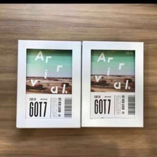 [WTS] GOT7 Arrival Albums : Never & Ever Version