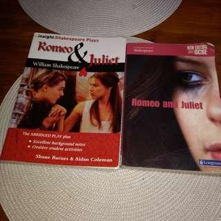 Romeo and Juliet school books