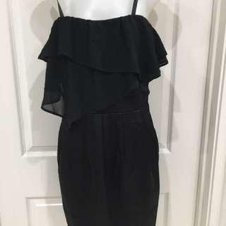Brand new little black dress Size 8