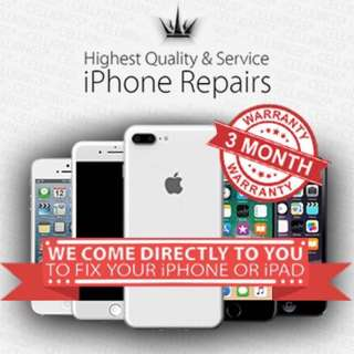 iPhone Screen Repairs - We Come Out To You! 💎