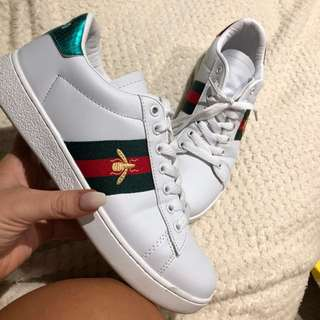 Gucci ace bee trainers