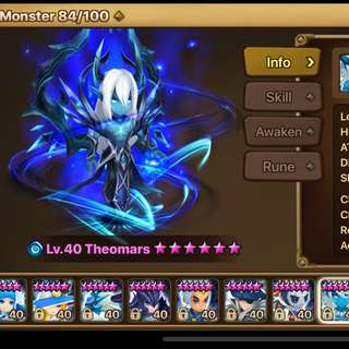 WTS Summoners War Asia
