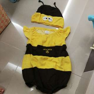 Bee cartoon Romper