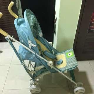 Pre loved travel stroller