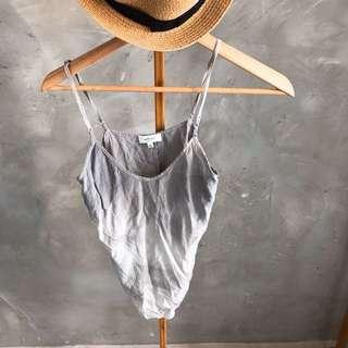 100% Silk fashion tank top