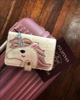 Skinnydip London Unicorn Passport Holder