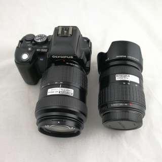 E500 , 2 lens 40x150 made in japan , 14x45mm, like new