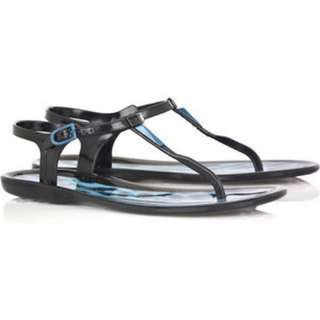 Authentic Jimmy Choo T-bar Jelly Sandals