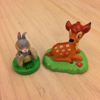 🚚 小鹿斑比 兔子 2款合售