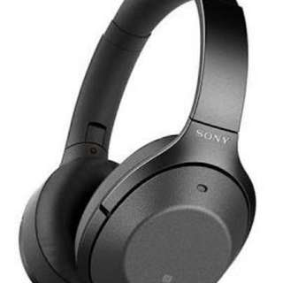 Sony 1000xM2 Flagship wireless Noise cancelling headphone