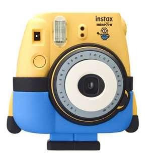 【富士mini8小小兵拍立得相機】神偷奶爸 mini 8 公司貨 instax 黃色
