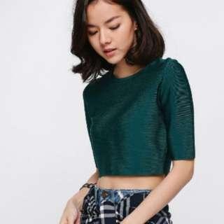 Love Bonito Araya Fitted Knit Crop Top
