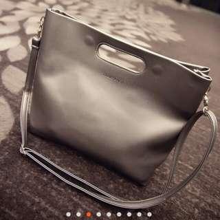簡約 ♥ 側背手提兩用包