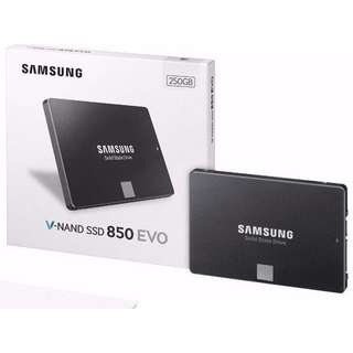 (In Stock!) Samsung Evo 850 SSD 250GB (BNIB)