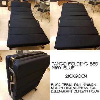 INFORMA Tango Folding Bed (navy)