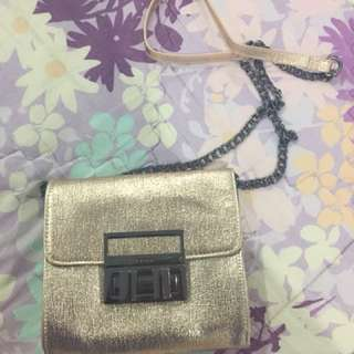 TopShop Chain Bag