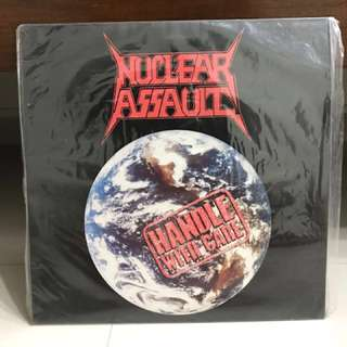 Nuclear Assault Handle with Care Vinyl