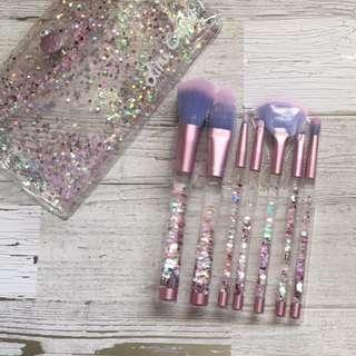Lime Crime Limecrime Aquarium Liquid Glitter Brush Set Brand New & Authentic (No Offers)
