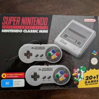 Nintendo SNES Classic Mini Console - Only 4 left!