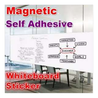 Dry Erase Flexible Magnetic Whiteboard Wall Sticker