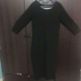 Filanto Black Maxi Dress