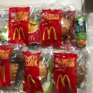McDonald's meal display