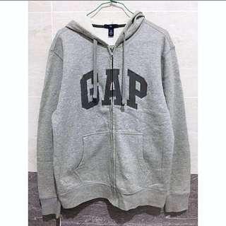 Gap 淺灰保暖連帽外套