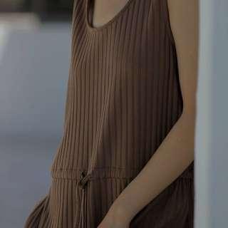 轉賣 | STUDIO DOE坑條舒適連身褲 nude soulsis room4 oui jasmine dogoose suis womenwear