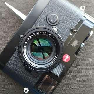 Leica M6 TTL Black Paint Special Millenium Ed