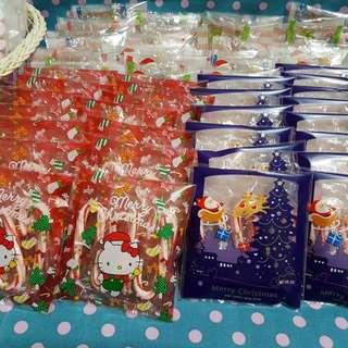 聖誕節糖果  枴杖糖  可愛Kitty扮聖誕老人發糖果囉!