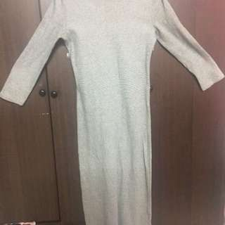 Filanto Grey Maxi Dress