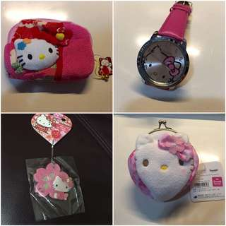 Hello Kitty 精品($120 for 4)
