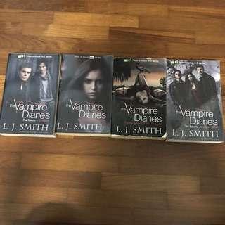 Vampire Diaries Series Storybook