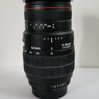 Sigma 70-300 f/4-5.6 Macro, Nikon mount