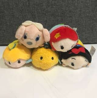 5 pcs Tsum Tsum Mini Plush