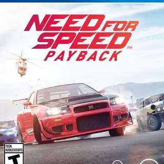 Used Ps4 Need For Speed Payback