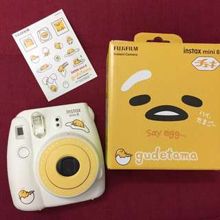Limited Edition: Fujifilm Instax Mini 8 Gudetama!