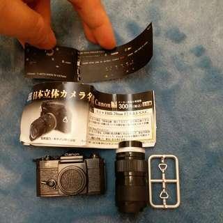 canon 扭蛋玩具相機