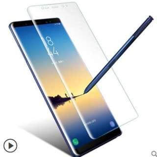 三星Galaxy note 8 s8 s8 plus s7 edge s6 edge g935 g925 鋼化膜全屏全透明玻璃3D曲面手機保護貼膜screen glass protector