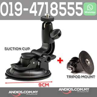 In-Stock✔9cm Large Suction Cup Mount GoPro 3/3+/4 SJ4000 Sport Camera