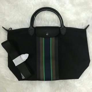 Longchamp criket / black / medium/ ready stock