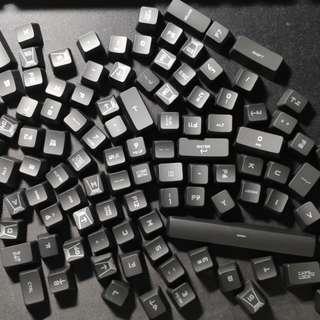 羅技Logitech G910原裝鍵帽Keycap(弧度版本) 全套113鍵