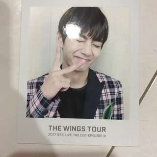 BTS TWT Ticket Album Photocard V Taehyung