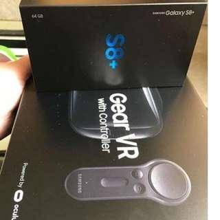Galaxy s8+ 128gb with Gear