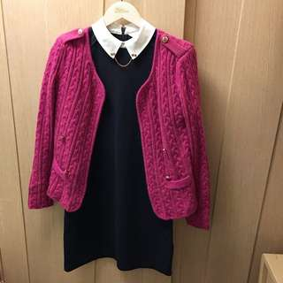 Kate S style fuchsia pink cardigan 💓