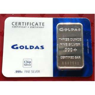 ♦ Various Selections - 1 Lot of 12x Troy Oz. / Grams g. (37.7+) 999/.5/+ Fine Classic Silver ingot bars (coin*)