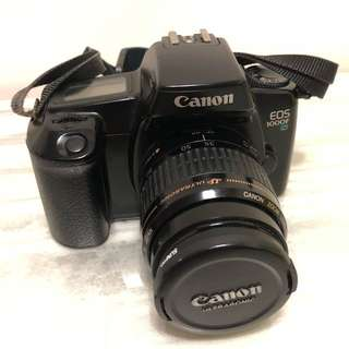Canon 1000F + 35-80mm lens