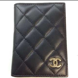 Chanel card holder purse