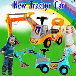 NEW TRACTOR CAR